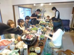 夜の食事会