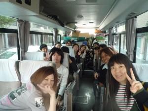 バスに乗りました
