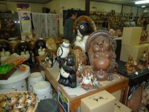 信楽にギャラリー巡りと陶芸体験に行ってきました