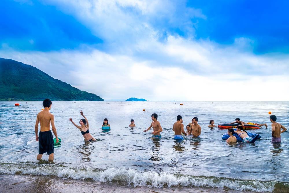 8月28日(日)に湖水浴&BBQに行ってきました!