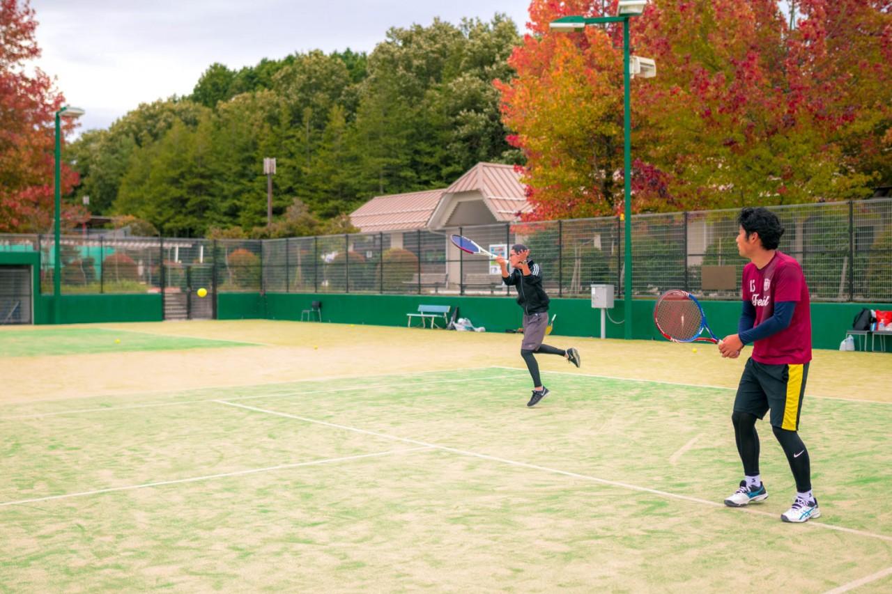10月23日(日)にテニス企画に行ってきました