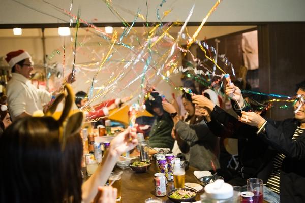 2016年最後のイベントクリスマスパーティーを行いました!